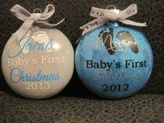 monogrammed personalized ornament tree ornaments