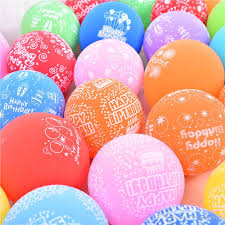 deliver balloons cheap 12 2 8g printting happy birthday balloon thickening matte