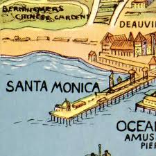 america map cities los angeles the city of america 1932