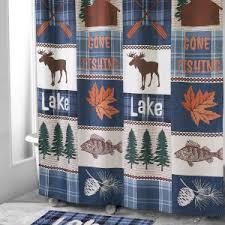Lodge Shower Curtains Lodge Shower Curtains Avanti Linens