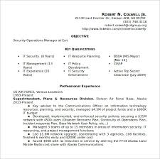 It Security Resume Examples by Network Security Resume Objectives