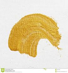 gold paint strokes stock vector image of painted brush 90204686