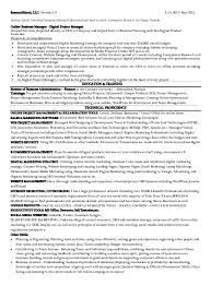 Marketing Resume Sample Pdf by Digital Imaging Specialist Cover Letter