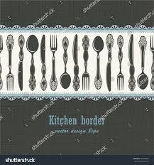 Kitchen Background Seamless Kitchen Background Stock Vector 125599382 Shutterstock