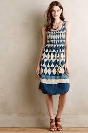 maeve clothing lyst maeve castalia dress in blue