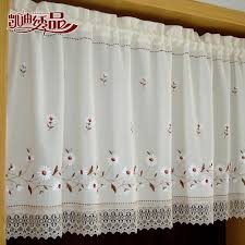 online get cheap rustic kitchen cabinets aliexpress com alibaba nice curtains rustic finished products embroidery coffee kitchen cabinet short door curtain cortinas for window