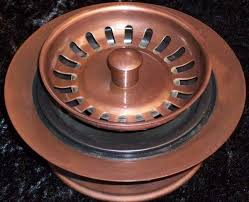 Kitchen Sink Drains Solid Copper Kitchen Drains And Disposal Flanges For Copper Sinks