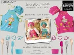 kit de cuisine enfant kdo kit cuisine garçon ou fille par forum clubpromos