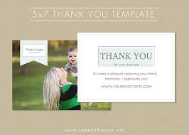 19 photography thank you cards free printable psd eps word