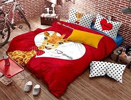 Giraffe Bedding Set Casa Children Bedding Series Giraffe Pattern Bedding Sets