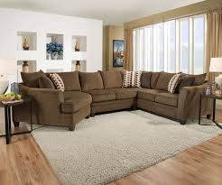 Albany Sectional Sofa Chestnut Sofa And Loveseat By Simmons