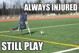 Soccer Player Meme - broken alaskan soccer player memes quickmeme