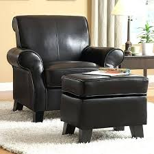 Brown Leather Chair With Ottoman Incredible Ottoman Sams Club Leather Chair With Ottoman Leather