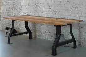 customizable reclaimed wood conference table or work desk by