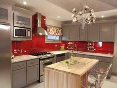 diy home decor ideas kitchens red kitchen and utensils