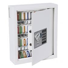 trieur courrier mural garde clef mural pour 1 ou 2 clés ask sécurité
