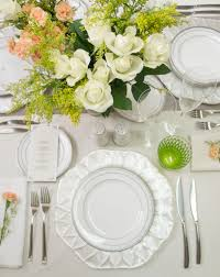perfect bridal table setting noritake hampshire platinum dinner