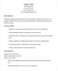 100 Successful Resume Templates Homely by Pharmacist Objective Resume Templates Memberpro Co