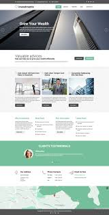 Real Estate Joomla Template investments template hotthemes