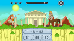 zeus vs monsters math game for kids on steam