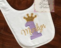 1st birthday bib 1st birthday bib etsy