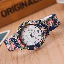 girls bracelet watches images Fashion design ladies flower wristwatch women dress watch high jpg