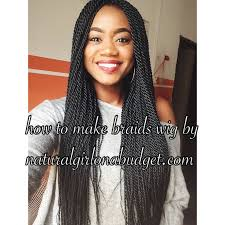 hair braid for a closure diy how to make braids wig with lace closure pictorial lace