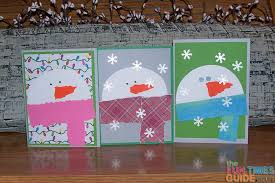 christmas cards to make easy snowman card tutorial how to make snowman christmas cards