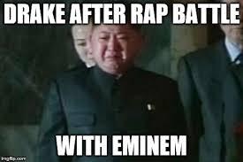 Eminem Drake Meme - eminem is boss player imgflip