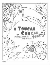 printable toucan bird coloring pages printable kids