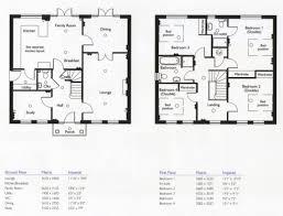 4 bedroom floor plans one story stunning 4 bedroom house floor plans modern 17 one story 5 bedroom