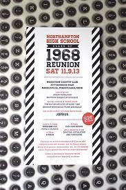 high school reunion invitations loveleigh invitations llc work wednesday northton high school