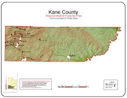 County Map Utah by Rwpp Kane County Maps
