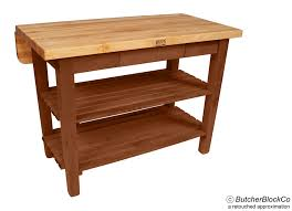 kitchen island boos boos kitchen island bar butcher block table