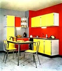 formica cuisine cuisine de la marque hygena bois finition émail et formica de 1957