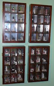 ornament display cabinet keepsake cupcakes display