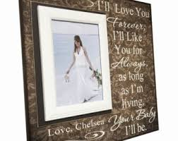 wedding frame for mom wedding thank you gift from groom