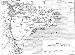 Bosphorus Strait Map Silk Road Seattle Constantinople