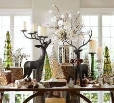 pottery barn christmas table decorations christmas decorating ideas for sofa table google search