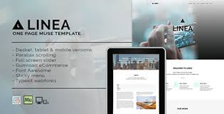 muse themes the best adobe muse templates
