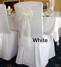 Chair Sash Rental Csr100w White Organza Chair Sash Rental Service U2013 Hehdeal Sg