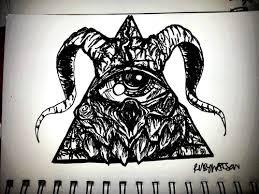 satanic illuminati tattoo by frankwaygerardiero deviantart com on