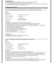 Ccnp Resume Format Ccna Resume Format Eliolera Com