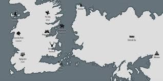Interactive Westeros Map Game Of Thrones Season 6 Preview