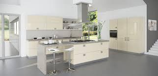 cuisine beige laqué cuisine estoril aubergine atypique et équipée par cuisines teisseire
