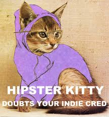 Hipster Cat Meme - hipster kitty know your meme