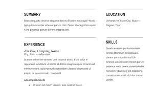 Updated Resume Templates Resume Amazing Automatic Resume Creator Resume Builder Top