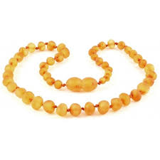 jewelry amber necklace images Raw honey baroque baltic amber teething necklace jpg