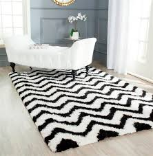 Black And White Modern Rug Captivating Gray Living Room Flooring Decor By Pretty Soft Black