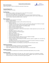 Resume Job Description Samples by How To Write Resume Job Description